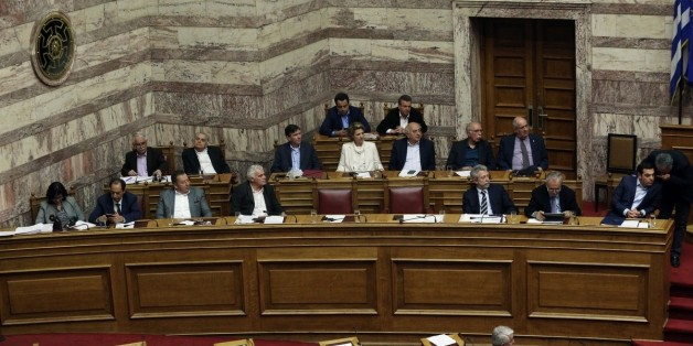 Discussion at the plenum of the Greek Parliament regarding the formation of an investigating committee for ex minister of Defense Giannos Papantoniou. Athens, on March 28, 2017 / ???????? ???? ????????? ??? ??? ??????? ??????????? ????????? ??? ??? ?????? ???????????. ?????, 28 ???????, 2017
