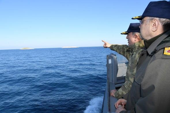 Photo of Αρχισε τις μεγάλες προκλήσεις η Τουρκία.Πολεμικα πλοίασημερα στα ΙΜΙΑ!!!