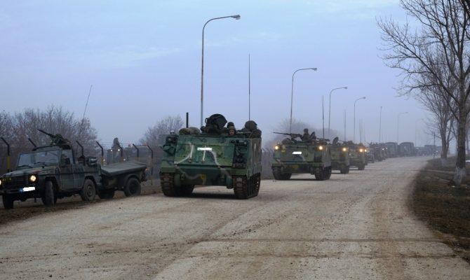 Photo of H 30η Μηχανοκίνητη Ταξιαρχία βγήκε στους χώρους διασποράς στον Βόρειο Έβρο – Στο Αιγαίο αναπτύσσεται ο Στόλος μας με ομάδες ΟΥΚ