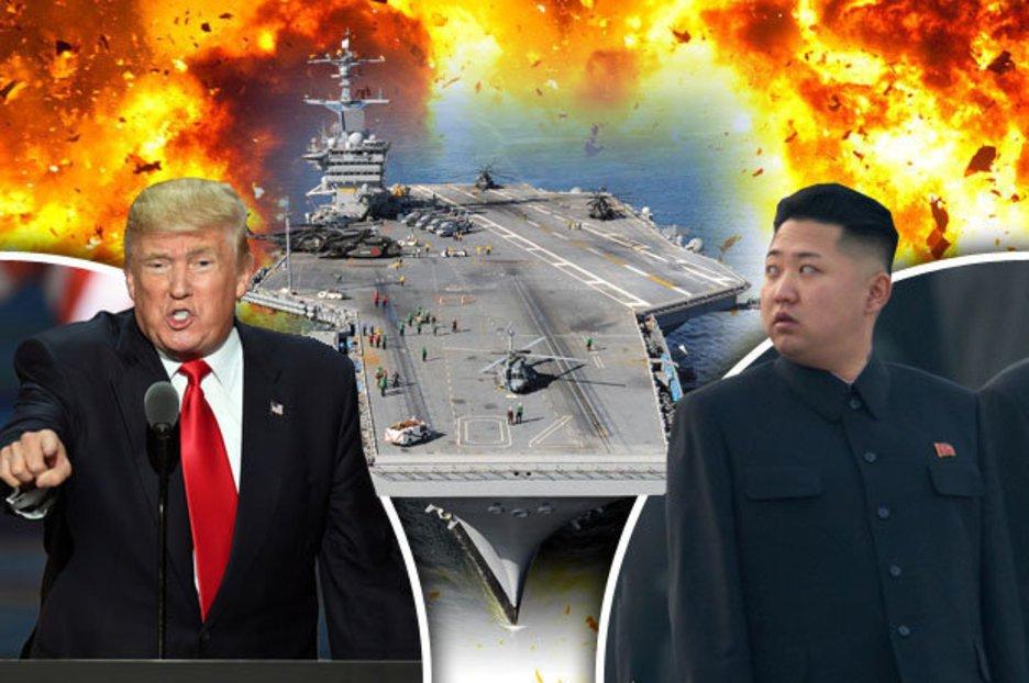 Photo of Το Μ.Σάββατο ανατινάζουν τον πλανήτη οι παρανοϊκοί Ν. Τραμπ και Κιμ Γιονγκ Ουν