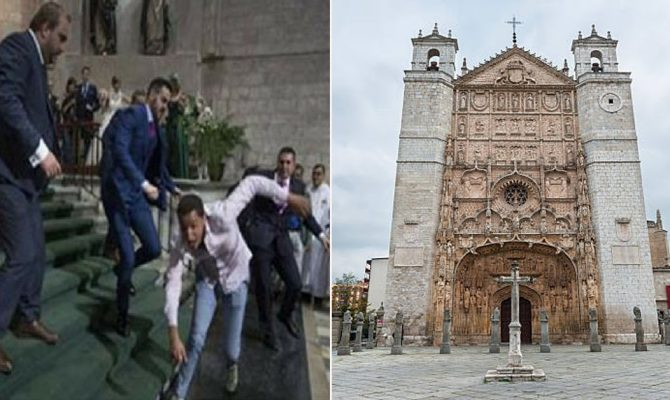 Photo of Μουσουλμάνος φωνάζοντας «Αλλάχ ακμπάρ» διέλυσε γάμο σε εκκλησία (video)