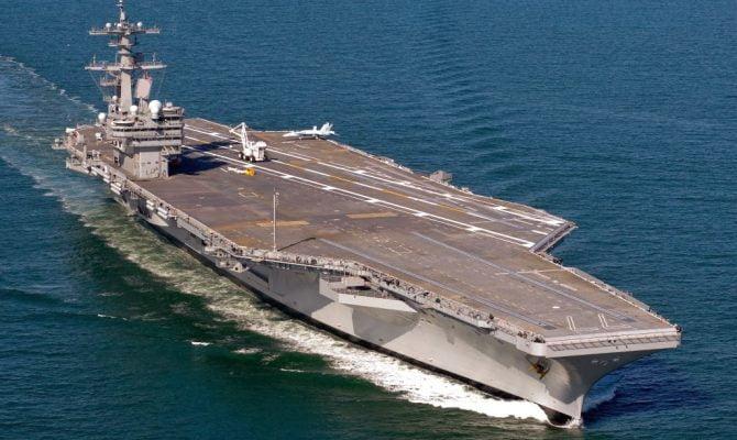 Photo of Το αεροπλανοφόρο Τζορτζ Μπους αναπτύχθηκε στο «Οικόπεδο 11» της Κύπρου – Σε ετοιμότητα μάχης για τη γεώτρηση