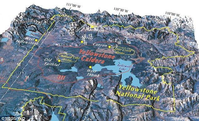 Photo of Σμήνος σεισμικών δονήσεων στο Yellowstone
