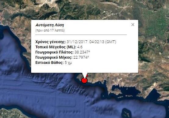 Photo of Σεισμός 4,6 ριχτερ στις 06.02 σήμερα στον Κορινθιακό αναστατώνει Αττικη , Στερεά και Πελοπόνησο