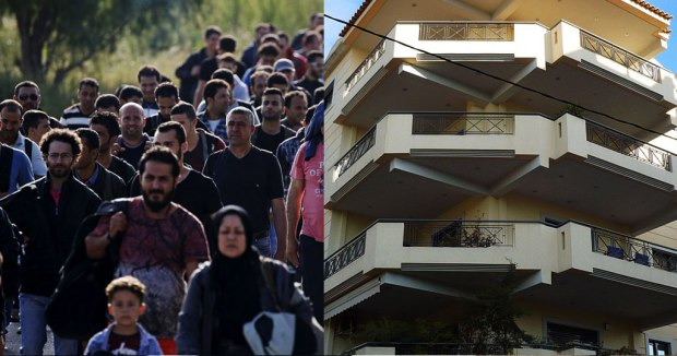 Photo of 20 χιλιαδες λαθρομεταναστοπουλα σε δωρεάν διαμερίσματα και σκέφτονται να τα διορίσουν στο Δημόσιο!!!