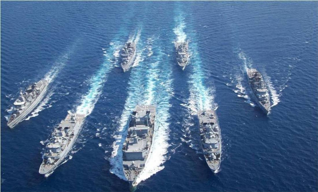 Photo of Φορτώνονται με πυραύλους και πλέουν προς το νοτιοανατολικό Αιγαίο πλοία του ΠΝ – Σε πολεμική ετοιμότητα και Μοίρες μαχητικών