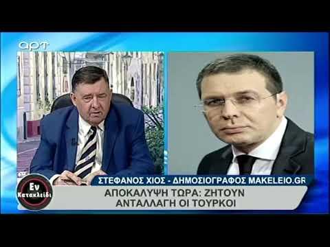 Photo of Ο Στ Χιος για τον εκβιασμό του ΓΕΕΘΑ Ακάρ στον Αποστολάκη.(video)