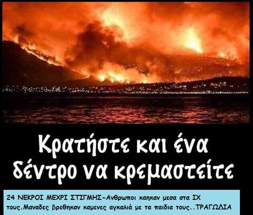 Photo of Tραγωδία 44 νεκροί μέχρι στιγμής από τις φωτιές..Φόβοι για διπλασιασμό…