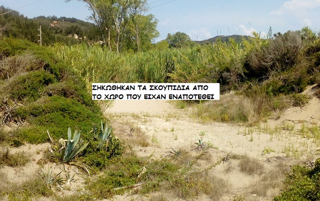 Photo of Σηκώθηκαν τα σκουπίδια που ειχαν εναποτεθει διπλα στη παραλία της Ερείκουσας.