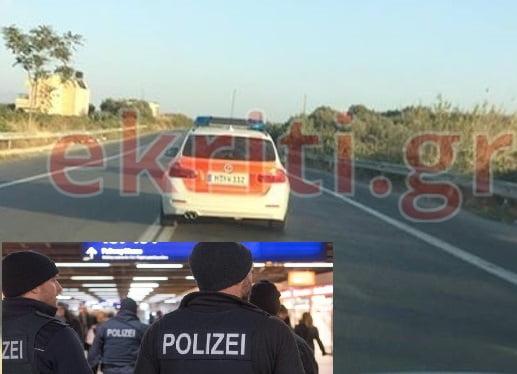 Photo of Γερμανοί αστυνομικοί στη Κρήτη με περιπολικό!!!