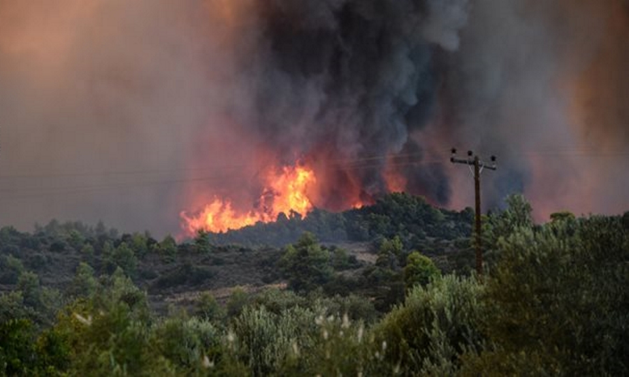 Photo of 150 στρέμματα έκαψε η Φωτια χθες στους Ραχτάδες Κέρκυρας…