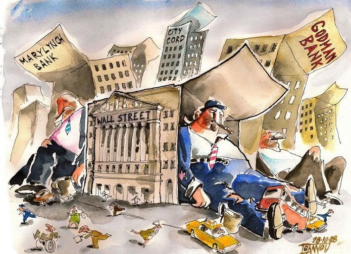 Photo of Κραχ στις τραπεζικές μετοχές! – Βυθίζεται το χρηματιστήριο – Εικόνα κατάρρευσης