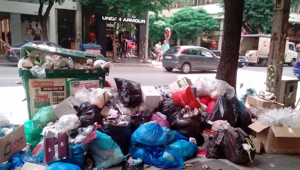 Photo of Στη Θεσσαλονικη επενέβη ο εισαγγελέας για τα σκουπίδια στους δρόμους στη Κέρκυρα έχουμε αλλο Κρατος!!!!