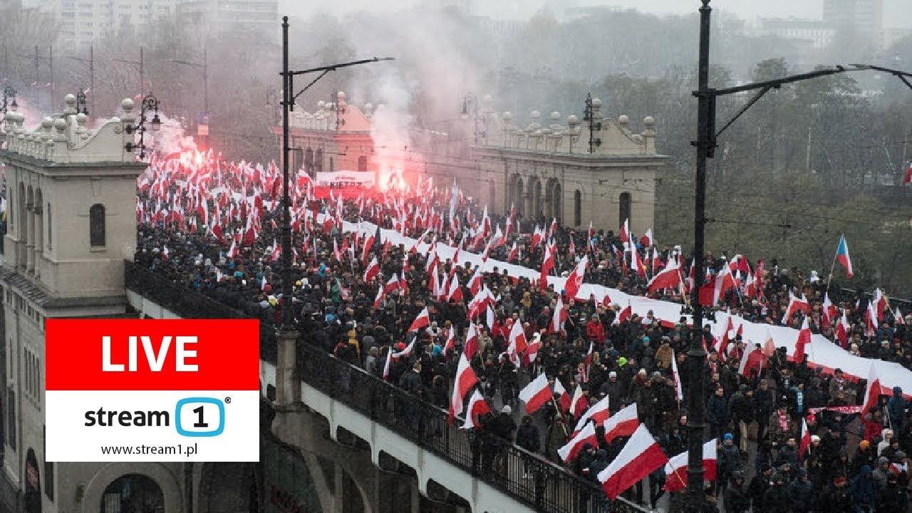 Photo of Χιλιάδες Πολωνοί στους δρόμους της Βαρσοβίας κατά της μετανάστευσης……