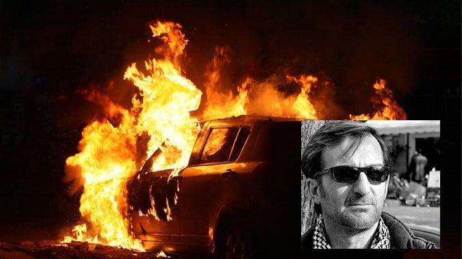 Photo of Μολοτοφ στο υπηρεσιακό  αυτοκίνητο του Αντιδημάρχου Νοτιας Κέρκυρας κ.Ασπιώτη