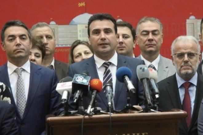 """Photo of VMRO: «Καταγράψαμε συνομιλίες, χρηματίστηκαν βουλευτές για τις """"Πρέσπες""""»  ΤοSkopje 1 θα τις μεταδόσει… «Θα βάλουμε φυλακή τον Ζάεφ»"""