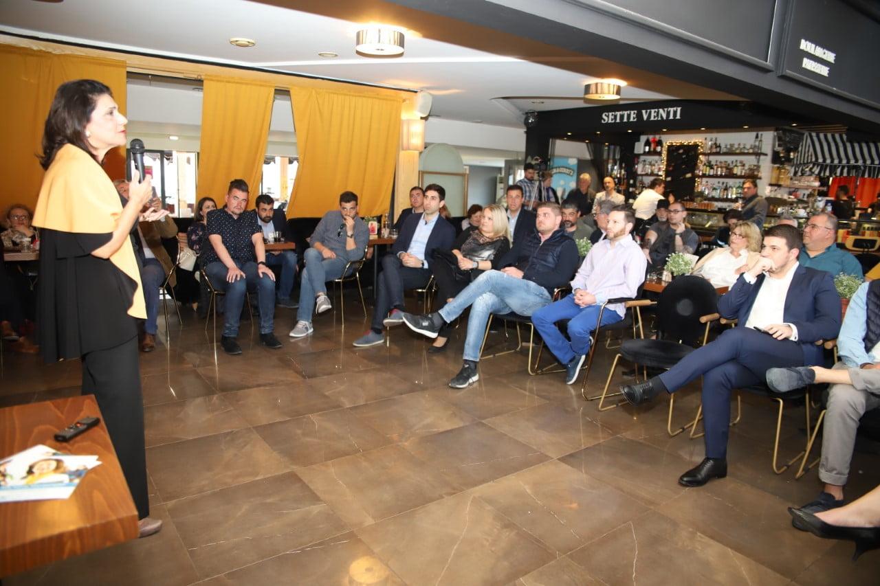 Photo of Pitching event από το συνδυασμό ΙΟΝΙΟ ΔΥΝΑΤΑ στο Λιμάνι της Κέρκυρας