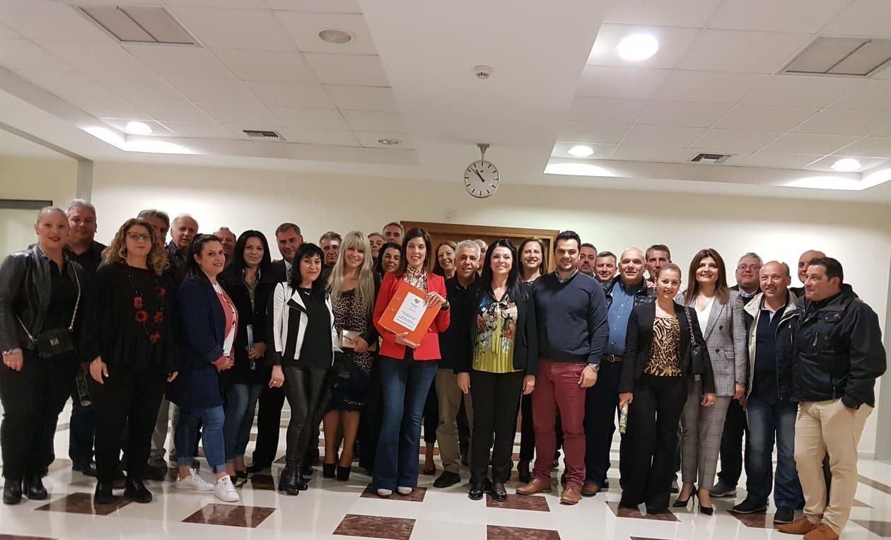 Photo of Kατατέθηκε το ψηφοδέλτιο της Μερόπης Υδραίου με 230 υποψήφιους