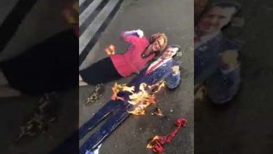 Photo of Ψευτομακεδόνες προκαλούν καίγοντας Ελληνικές σημαίες στη Μελβούρνη!! (video)