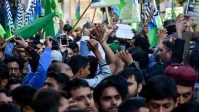 Photo of Να που φτάσαμε να ζητούν με πορεία οι Πακιστανοί το κεφάλι Ελληνα!!!!!