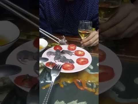 Photo of Οταν τρωνε ποντίκα και φιδια κ.λπ ολο αρρώστιες θα βγαίνουν!!(video)