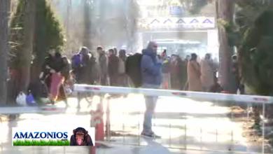 Photo of Τα ΜΑΤ απωθούν τους λάθρο στα σύνορα με την Τουρκία στις Καστανιές Εβρου.(video)