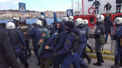 Photo of Νεα διαδήλωση λαθρομεταναστων στη Μυτιλήνη!!! Οι κάτοικοι πήραν στο κυνήγι τις ΜΚΟ & τους Λάθρο!!!