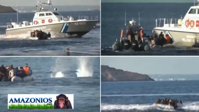 "Photo of Push back απο το Λιμενικό σε λαθροεισβολείς με πυρά…και την έκαναν ""Λούης"" (Video)"