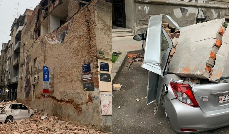 "Photo of Με 5,3 Ρίχτερ  σεισμό ""ξύπνησε"" στην Κροατία στις 07.24..(video 7 Φωτό)"