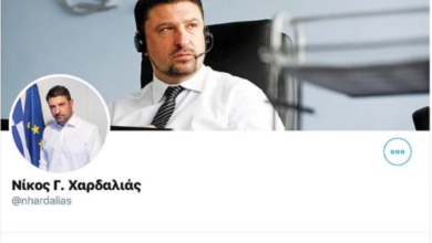 Photo of Ο Χαρδαλιάς δεν απαντά, μπλοκάρει!