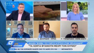 """Photo of """"Τα λεφτά φτάνουν έως τον Ιούνιο"""" δήλωσε στο ΟPEN ο Ευρωβουλευτής της ΝΔ Κύρτσος"""