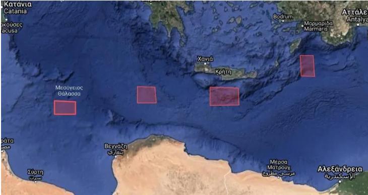 Photo of Η Τουρκία εξέδωσε NAVTEX για πρώτη φορά νότια της Κρήτης και της Γαύδου.