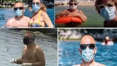 Photo of Τρομαγμένοι μασκοφόροι κάνουν βουτιές στη θάλασσα ακόμη και με γάντια!!!
