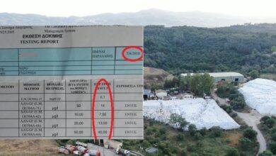 Photo of Bαρέα μέταλλα ανιχνεύτηκαν  στο νερό της ευρύτερης περιοχής Τεμπλονίου Κέρκυρας από την μόλυνση της Χωματερής.
