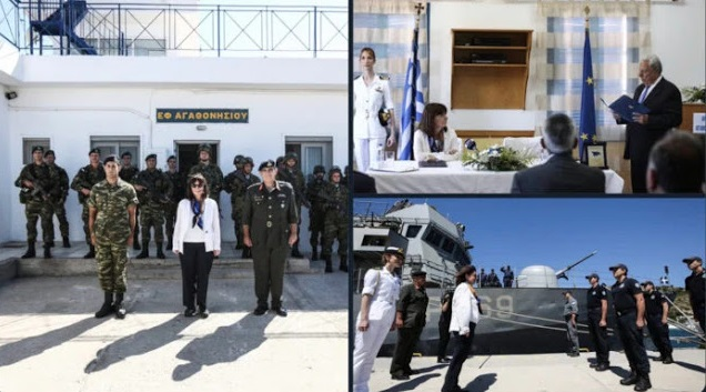 Photo of Η πρόεδρος Δημοκρατιας ξεχώρισε τα νησιά από την υπ.Ελλαδα. Ίδια θέση με Τουρκία!!