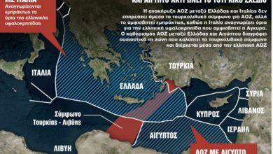 Photo of «Πατάει γκάζι» η Αθήνα για καθορισμό ΑΟΖ με Ιταλία και Αίγυπτο