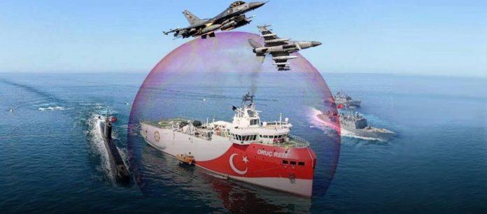 Photo of H Toυρκία στέλνει τo Oruc Reis με  φρεγάτες προς Καστελόριζο