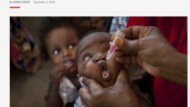 Photo of Παραδέχθηκαν το φιάσκο: Εμβόλιο που χρηματοδοτεί ο Bill Gates επανέφερε την πολιομυελίτιδα στην Αφρική- Φόβοι για πανδημία