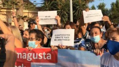 Photo of Ξεσηκωμός! «Δώστε μας πίσω την Αμμόχωστο – Είμαστε οι νόμιμοι κάτοικοι της πόλης» – Κύπριοι διαμαρτύρονται για τα Βαρώσια (video)