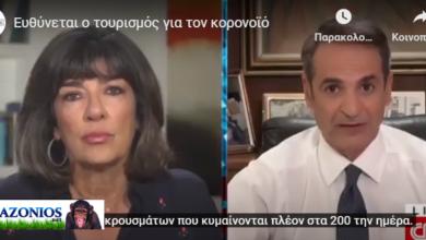 Photo of Kυριάκος… άνοιξε την Οικονομία και τον Τουρισμό και αυτοαδειάζεται στο CNN!!(video)