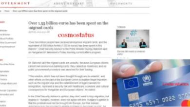 Photo of Πάνω από 2 εκατομμύρια ανώνυμες χρεωστικές κάρτες αξίας 1,55 δισ. ευρώ ΚΑΘΕ ΜΗΝΑ μοιράστηκαν σε μετανάστες