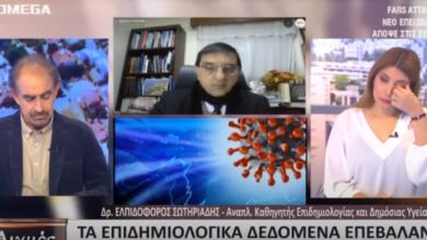 Photo of Καθηγητής Επιδημιολογίας:Ο κορωνοϊός είναι λιγότερο επικίνδυνος από την γρίπη – Σταματήστε το πανήγυρι της θανατολογίας(Video)
