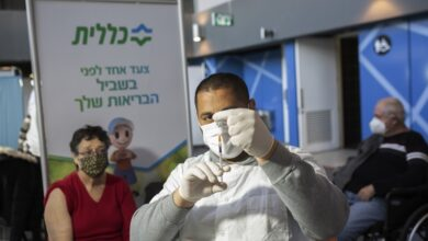Photo of Ισραήλ: Η πρώτη δόση του εμβολίου της Pfizer δεν παρέχει πλήρη προστασία – Επαναμολύνονται ασθενείς